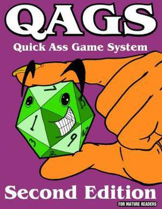 QAGS - Image: Cover of QAGS 2nd Ed