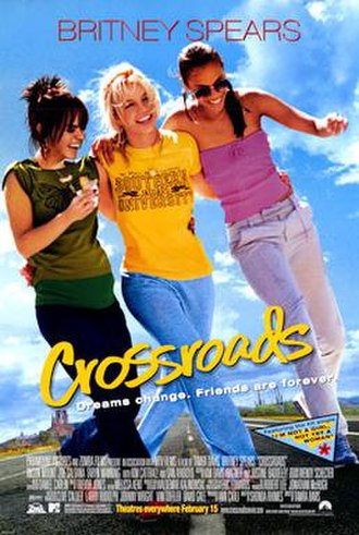 Crossroads (2002 film) - Theatrical release poster