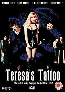 DVD cover of the movie Teresa's Tattoo.jpg