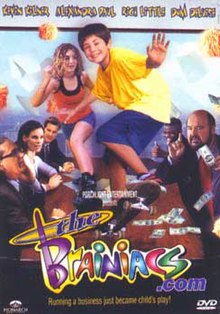 DVD cover of the movie The Brainiacs com.jpg