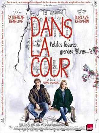 In the Courtyard - Film poster