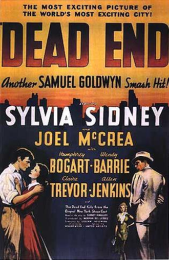 Dead End (1937 film) - Theatrical release poster