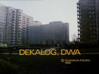 1988 second part of the television series The Decalogue directed by Krzysztof Kieślowski