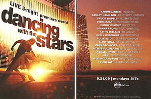 Dancing with the Stars (U.S. season 9) - Image: Dwts 9poster
