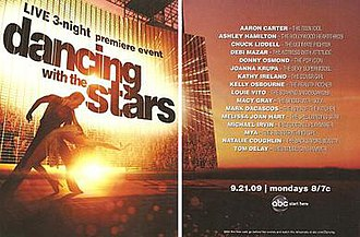 Dancing with the Stars (U.S. season 9) - Promotional poster