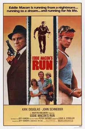 Eddie Macon's Run - Original movie poster