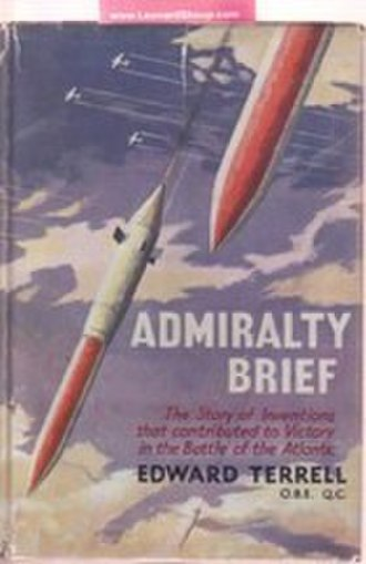 Disney bomb - The Disney bomb on the cover of Terrell's book Admiralty Brief: The Story of Inventions that Contributed to Victory in The Battle of the Atlantic (1958)