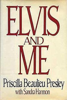 <i>Elvis and Me</i> book by Priscilla Presley