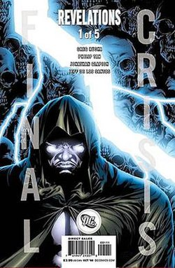 Cover Of Final Crisis Revelations 1 One Two Versions Shipped In A 11 Ratio Oct 2008Art By Philip Tan
