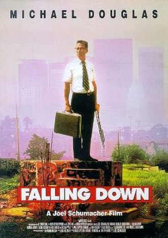 Falling Down - Theatrical release poster