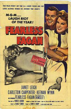 "Fearless Fagan - ""Fearless Fagan"" (1952) Poster"