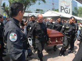 Esteban Robles Espinosa - Funeral of Esteban Espinosa