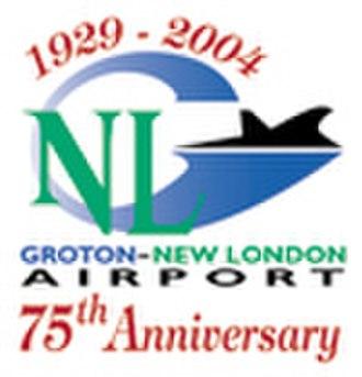 Groton–New London Airport - Image: GON Airport Logo