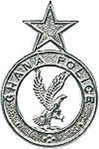 Ghana Police Service - Image: Ghana Police Service (GPS) Badge