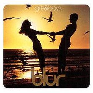 Girls & Boys (Blur song) - Image: Girls & Boys CD2