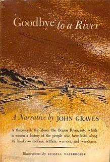 <i>Goodbye to a River</i> book by John Graves