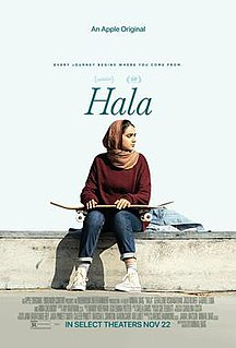 <i>Hala</i> (film) 2019 film