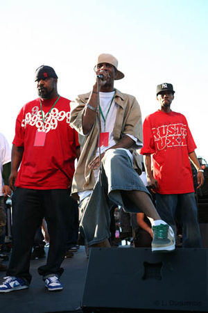 Heltah Skeltah - Ruck (left) and Rock (center) with Ruste Juxx