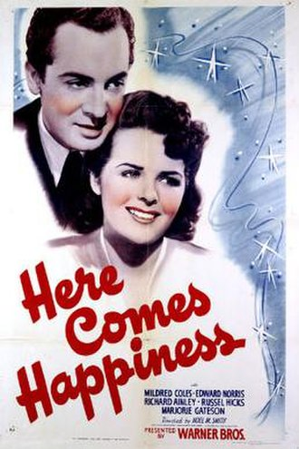 Here Comes Happiness - Theatrical release poster