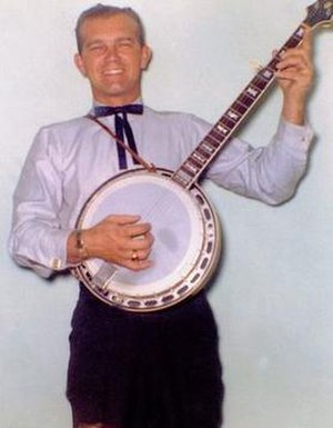 Howie Stange - Playing the Banjo