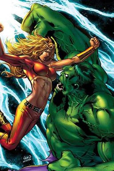 Thundra vs. Hulk