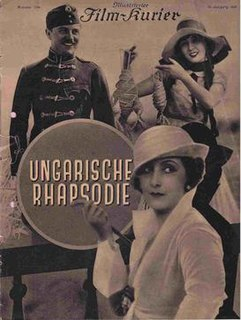 <i>Hungarian Rhapsody</i> (1928 film) 1928 film
