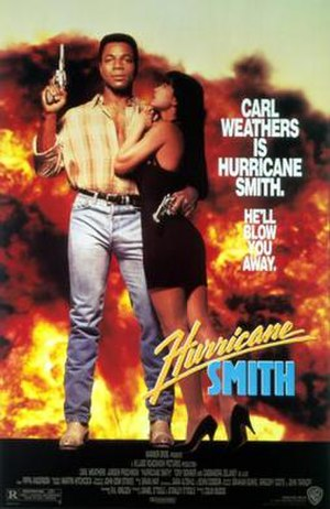 Hurricane Smith (1992 film) - Theatrical film poster