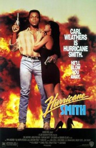 Hurricane Smith (1992 film) - Theatrical film poster