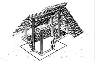 Ommen - A hutkom: an early Saxon dwelling