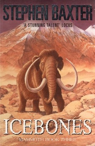 The Mammoth Trilogy - Cover of the first edition, published Gollancz. Art by Peter Barrett.