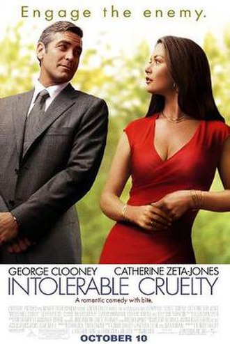 Intolerable Cruelty - Theatrical release poster