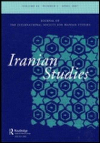 Iranian Studies (journal) - Image: Iranian Studies Journal