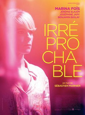 Irréprochable - Theatrical release poster