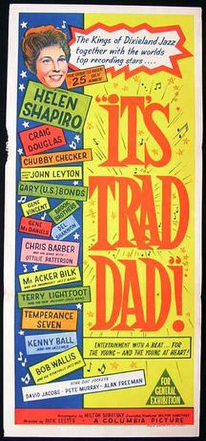 It's Trad, Dad! - Theatrical release poster