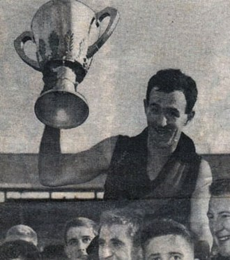 Jack Clarke (Australian footballer, born 1933) - Jack Clarke after the 1962 VFL Grand Final