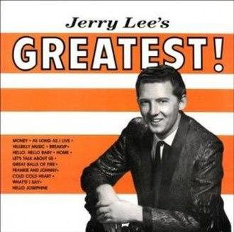 Jerry Lee's Greatest - Image: Jerry Lee Lewis SUN SLP1265