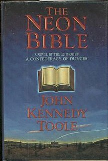 <i>The Neon Bible</i> book by John Kennedy Toole