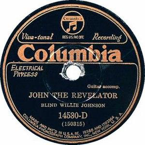 John the Revelator (song) - Image: John the Revelator single cover