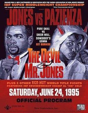 Roy Jones Jr. vs. Vinny Pazienza - Image: Jones vs Paz
