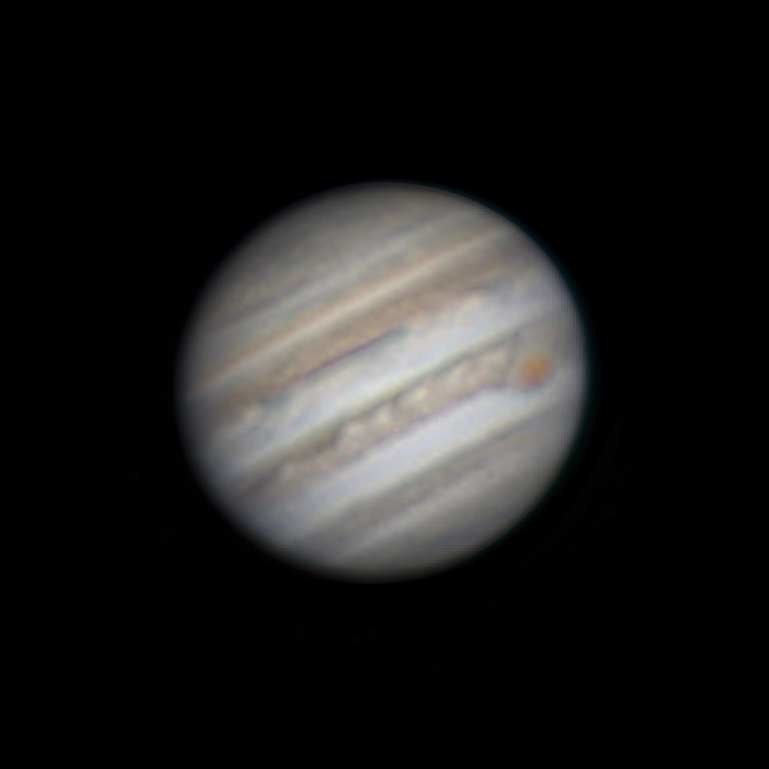 Jupiter with Lucky Imaging