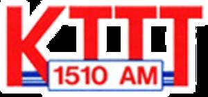 KTTT - Image: KTTT1510 logo