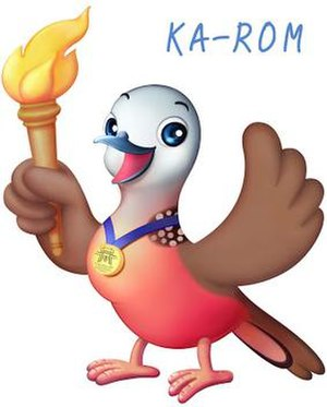 2008 ASEAN Para Games - Nok-Kao Karom, the dove, the Official Mascot of the Games
