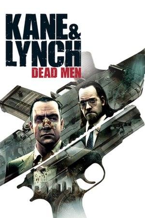Kane & Lynch: Dead Men - Cover art