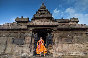Shore Temple - Kathak Danseuse Namrta Rai at Sea Shore Temple
