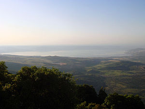 Sea of Galilee - View from the Galilee