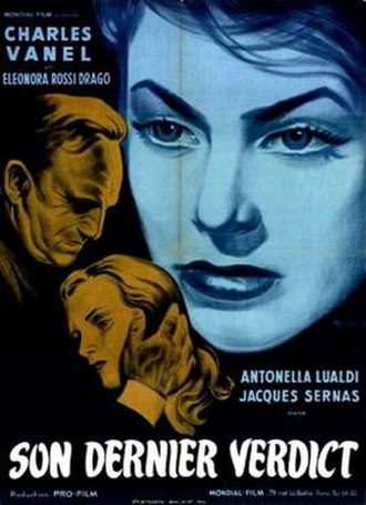 The Last Sentence (1951 film) - French theatrical poster