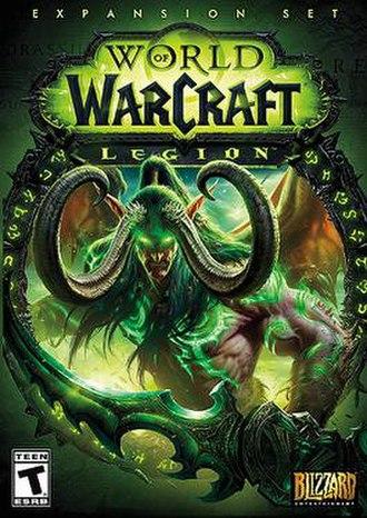 World of Warcraft: Legion - Image: Legion cover