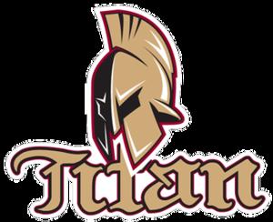 Acadie–Bathurst Titan - Image: Logo Titan d'Acadie Bathurst 2014