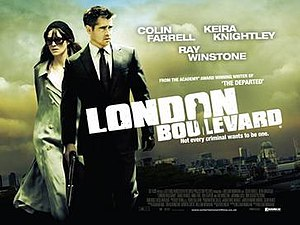 London Boulevard - Theatrical release poster