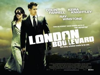 <i>London Boulevard</i> 2010 film by William Monahan